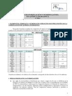 Apuntes de Formulación y Nomenclatura 3º ESO