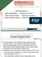 Fungsi produksi CES.pptx