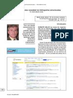 Benito Amat, C. - Fin de Las Listas - Necesidad de Bibliografías Estructuradas
