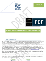 Openroads Manual for Designers