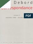 Debord - Correspondance Volume 2 (Septembre 1960 - Décembre 1964)
