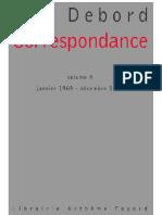 Debord - Correspondance Volume 4 (Janvier 1969 - Décembre 1972)