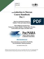 BC Course Handbook Day1