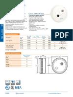 517T Series Catalog Page Smoke Detectors