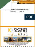 Konstruksi Indonesia & IIICE'13 - Rev 3