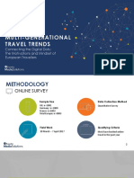 Research MultiGen Travel Trends European Travellers