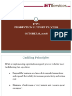 Production Support Process