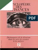 Encyclopédie des Nuisances - Fascicule 7 - Mai 1986.pdf