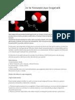 Apa Oxigenata (h2o2)