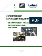 Sistema Pastoril Manejo Eficiente Agua Machareti