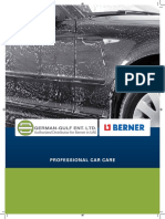 Berner Car Care Products | Engine Cleaning - Window Sealing - GermanGulf.com