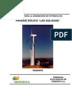 Plan Eolico Iberdrola Las Aulagas 13,8MW