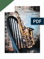 Charles Koechlin - 15 Etudes pour saxophone alto et piano (Front Pages)