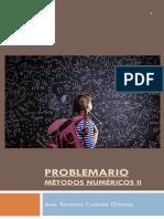 Problemario Métodos Numéricos II