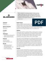 REDLION - Manufacturing - Blizzard Case Study