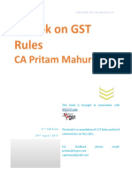 Handbook on GST Rules - 3rd Edn - CA Pritam Mahure