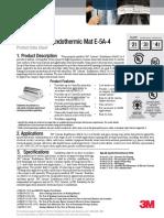 3M E5A Mat Product Data Sheet