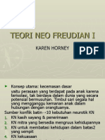 Teori Neo Freudian Horney