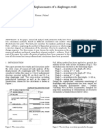 Numerical analysis of displacements of a diaphragm wall.pdf