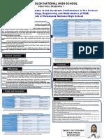 Sample Tarp Research Congress Practical 1