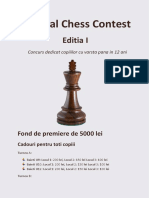 Annual Chess Contest