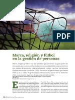 Capital Humano Marca, Futbol y Religion Abril 2015