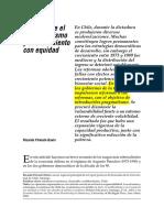 FFRENCH Davies - 2002 - ARTICULO Chile, Entre El Neloliberalismo y El Crecimiento Coon Equidad