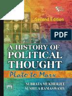 A History of Political Thought Plato to Marx - Subrata Mukherjee&Sushila Ramaswamy @INVAD3R