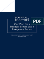 Conservative Manifesto 2017