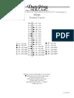 PD40 String Chart