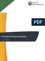 CIS Google Chrome Benchmark v1.1.0