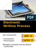 Electronic Writing Process - 4