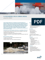 MIKEbyDHI ProductFlyer MIKEURBAN FloodModellingInUrbanAreas 2D UK