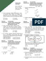 Bedah Skl Math Smp Akhmad Yani