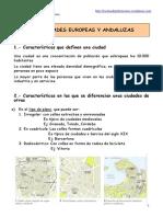 Las Ciudades Europeas y Andaluzas