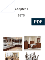 Chapter 1 Sets