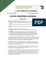 Mestrado Actuariado AFD 2015 Exercícios 2FINAL