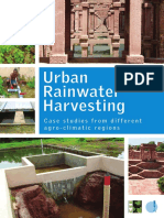 Urban Rainwater Harvesting Report by CSE in Modern Housing Projects, 2014