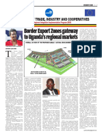 Border Export Zones gateway to Uganda's regional markets