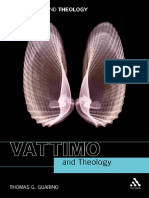 Guarino-Vattimo and Theology