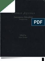 Davis-Thomas Aquinas Contemporary Perspectives