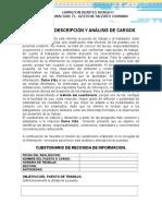 Informe de Cargo