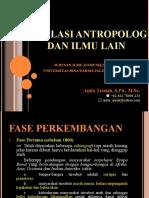 Peng Antr01 Korelasi Antropologi Dan Ilmu Lain