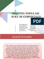 Mapping Populasi Suku Gorontalo