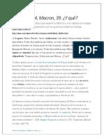 Trogneux 64 Macron 39