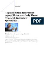 Only Three Questions to Recruit a CEO From Forbes