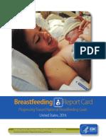 2016 Breastfeeding Report Card