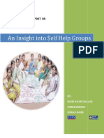 An Insight Into Self Help Groups