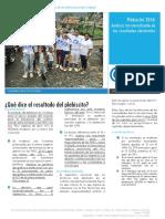 CODHES Plebiscito 1