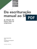 Da Escrituração Manual Ao SPED - CRCRS